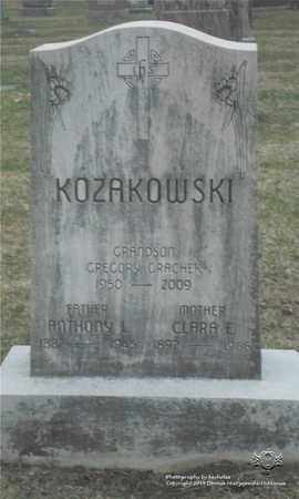 KOZAKOWSKI, ANTHONY L. - Lucas County, Ohio | ANTHONY L. KOZAKOWSKI - Ohio Gravestone Photos