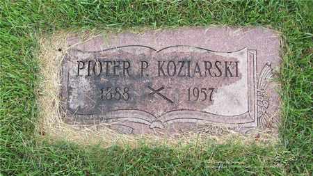 KOZIARSKI, PIOTER P. - Lucas County, Ohio | PIOTER P. KOZIARSKI - Ohio Gravestone Photos