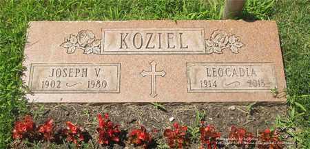 KOZIEL, LEOCADIA - Lucas County, Ohio | LEOCADIA KOZIEL - Ohio Gravestone Photos