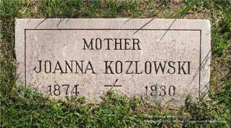 KLOS KOZLOWSKI, JOANNA - Lucas County, Ohio | JOANNA KLOS KOZLOWSKI - Ohio Gravestone Photos