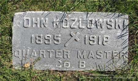 KOZLOWSKI, JOHN - Lucas County, Ohio | JOHN KOZLOWSKI - Ohio Gravestone Photos