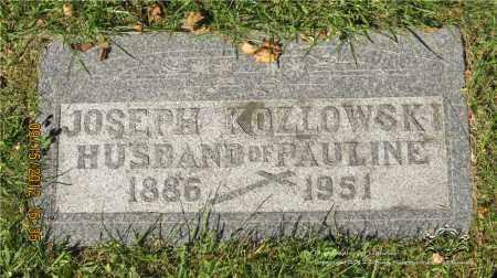 KOZLOWSKI, JOSEPH - Lucas County, Ohio | JOSEPH KOZLOWSKI - Ohio Gravestone Photos