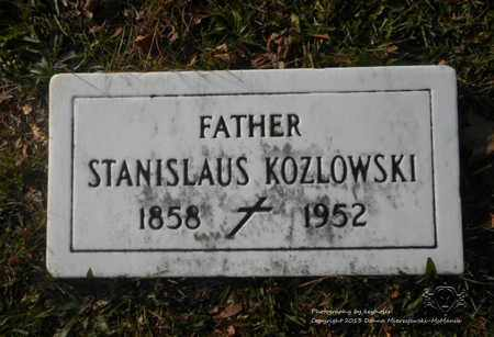 KOZLOWSKI, STANISLAUS - Lucas County, Ohio | STANISLAUS KOZLOWSKI - Ohio Gravestone Photos