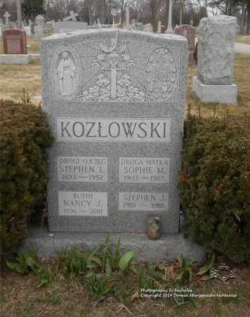 KOZLOWSKI, NANCY J. - Lucas County, Ohio | NANCY J. KOZLOWSKI - Ohio Gravestone Photos