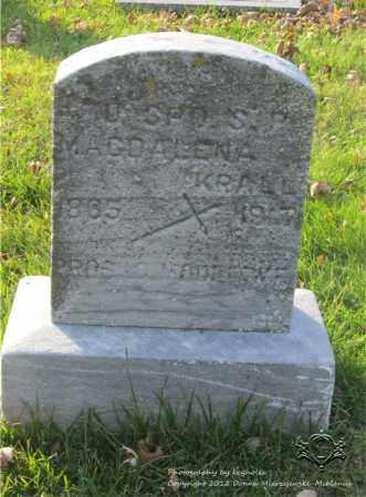 LESINSKI KRALL, MAGDALENA - Lucas County, Ohio | MAGDALENA LESINSKI KRALL - Ohio Gravestone Photos