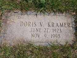 KRAMER, DORIS V. - Lucas County, Ohio | DORIS V. KRAMER - Ohio Gravestone Photos