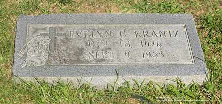 KRANTZ, EVELYN C. - Lucas County, Ohio | EVELYN C. KRANTZ - Ohio Gravestone Photos