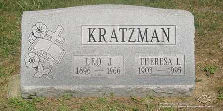 KRATZMAN, THERESA L. - Lucas County, Ohio | THERESA L. KRATZMAN - Ohio Gravestone Photos