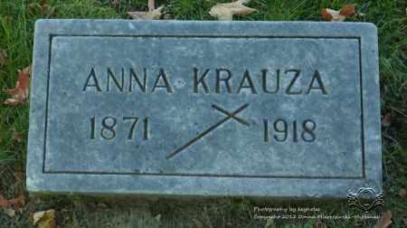 SZKLARSKI KRAUZA, ANNA - Lucas County, Ohio | ANNA SZKLARSKI KRAUZA - Ohio Gravestone Photos