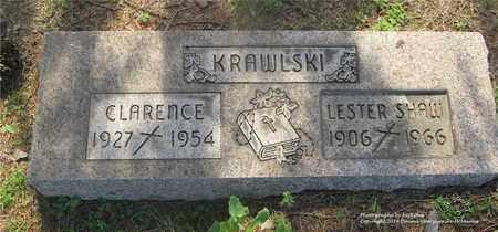 KRAWLSKI, CLARENCE - Lucas County, Ohio | CLARENCE KRAWLSKI - Ohio Gravestone Photos