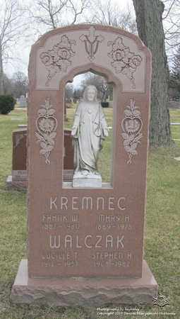 KREMNEC, MARY A. - Lucas County, Ohio | MARY A. KREMNEC - Ohio Gravestone Photos