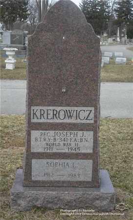 KREROWICZ, JOSEPH - Lucas County, Ohio | JOSEPH KREROWICZ - Ohio Gravestone Photos