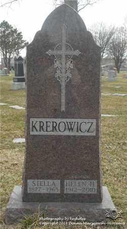 KREROWICZ KOZNIEWSKI, HELEN H. - Lucas County, Ohio | HELEN H. KREROWICZ KOZNIEWSKI - Ohio Gravestone Photos