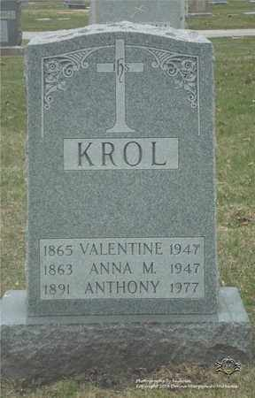 KROL, ANTHONY - Lucas County, Ohio | ANTHONY KROL - Ohio Gravestone Photos