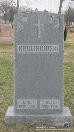 KRULIKOWSKI, ROSE - Lucas County, Ohio | ROSE KRULIKOWSKI - Ohio Gravestone Photos
