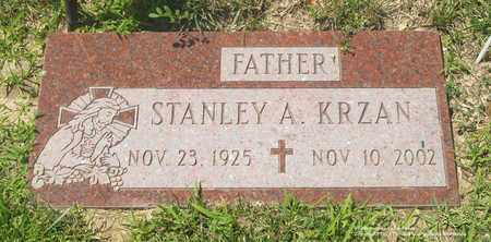 KRZAN, STANLEY A. - Lucas County, Ohio | STANLEY A. KRZAN - Ohio Gravestone Photos