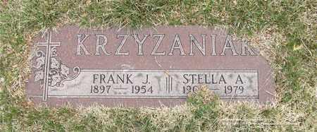 KRZYZANIAK, FRANK J. - Lucas County, Ohio | FRANK J. KRZYZANIAK - Ohio Gravestone Photos