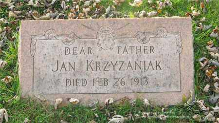 KRZYZANIAK, JAN - Lucas County, Ohio | JAN KRZYZANIAK - Ohio Gravestone Photos
