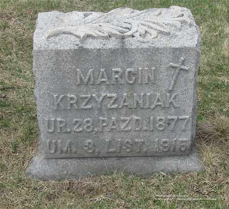 KRZYZANIAK, MARCIN - Lucas County, Ohio | MARCIN KRZYZANIAK - Ohio Gravestone Photos