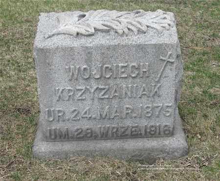 KRZYZANIAK, WOJCIECH - Lucas County, Ohio | WOJCIECH KRZYZANIAK - Ohio Gravestone Photos