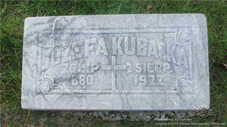 MODALINSKI KUBACKA, JOZEFA - Lucas County, Ohio | JOZEFA MODALINSKI KUBACKA - Ohio Gravestone Photos