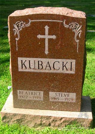 KUBACKI, BEATRICE - Lucas County, Ohio | BEATRICE KUBACKI - Ohio Gravestone Photos
