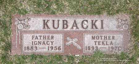 KUBACKI, IGNACY - Lucas County, Ohio | IGNACY KUBACKI - Ohio Gravestone Photos