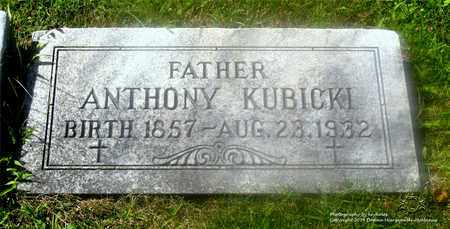 KUBICKI, ANTHONY - Lucas County, Ohio | ANTHONY KUBICKI - Ohio Gravestone Photos
