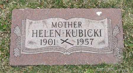 KUBICKI, HELEN - Lucas County, Ohio | HELEN KUBICKI - Ohio Gravestone Photos