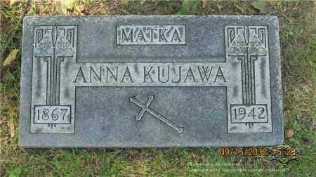 WALKOWIAK KUJAWA, ANNA - Lucas County, Ohio | ANNA WALKOWIAK KUJAWA - Ohio Gravestone Photos