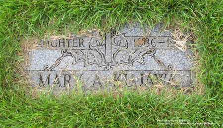 KUJAWA, MARY A. - Lucas County, Ohio | MARY A. KUJAWA - Ohio Gravestone Photos