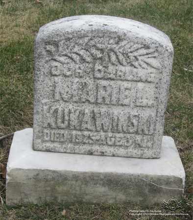 KUKAWINSKI, MARIE L. - Lucas County, Ohio | MARIE L. KUKAWINSKI - Ohio Gravestone Photos