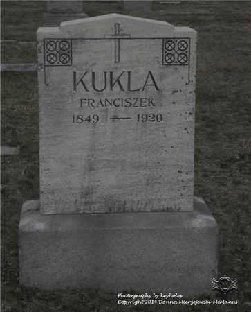 KUKLA, FRANCISZEK - Lucas County, Ohio | FRANCISZEK KUKLA - Ohio Gravestone Photos