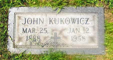 KUKOWICZ, JOHN - Lucas County, Ohio | JOHN KUKOWICZ - Ohio Gravestone Photos