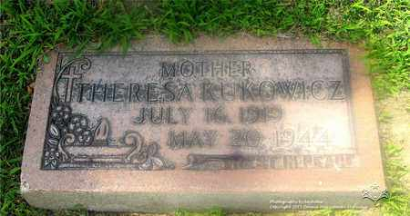 KUKOWICZ, THERESA - Lucas County, Ohio | THERESA KUKOWICZ - Ohio Gravestone Photos