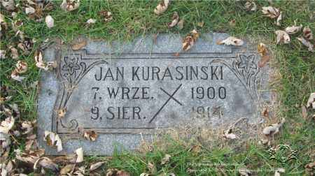 KURASINSKI, JAN - Lucas County, Ohio | JAN KURASINSKI - Ohio Gravestone Photos