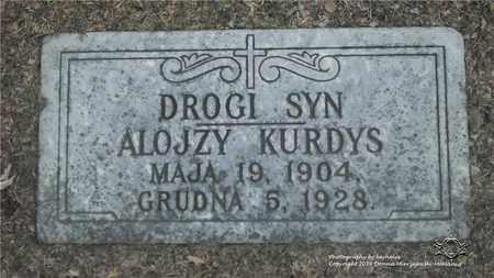 KURDYS, ALOJZY - Lucas County, Ohio | ALOJZY KURDYS - Ohio Gravestone Photos