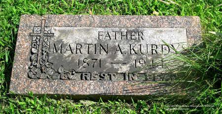KURDYS, MARTIN A. - Lucas County, Ohio | MARTIN A. KURDYS - Ohio Gravestone Photos