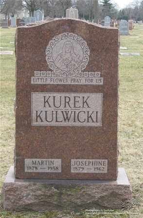 KUREK, MARTIN - Lucas County, Ohio | MARTIN KUREK - Ohio Gravestone Photos
