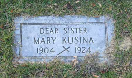 MARKIECKI KUSINA, MARY - Lucas County, Ohio | MARY MARKIECKI KUSINA - Ohio Gravestone Photos