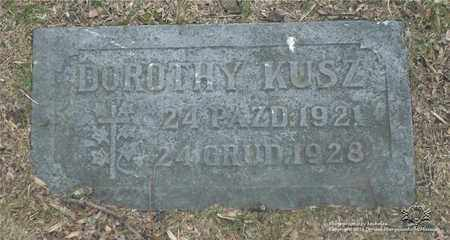 KUSZ, DOROTHY - Lucas County, Ohio | DOROTHY KUSZ - Ohio Gravestone Photos