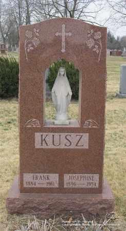 KUSZ, FRANK - Lucas County, Ohio | FRANK KUSZ - Ohio Gravestone Photos