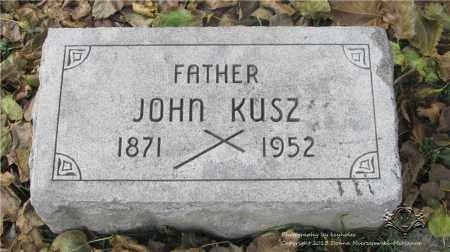 KUSZ, JOHN - Lucas County, Ohio | JOHN KUSZ - Ohio Gravestone Photos