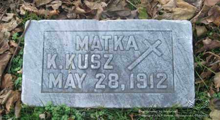 KUSZ, KATARZYNA - Lucas County, Ohio | KATARZYNA KUSZ - Ohio Gravestone Photos
