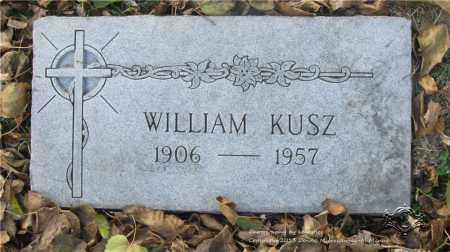 KUSZ, WILLIAM - Lucas County, Ohio | WILLIAM KUSZ - Ohio Gravestone Photos