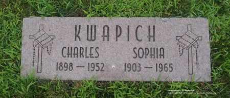 KWAPICH, CHARLES - Lucas County, Ohio | CHARLES KWAPICH - Ohio Gravestone Photos