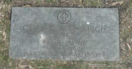 KWAPICH, GERALD A. - Lucas County, Ohio | GERALD A. KWAPICH - Ohio Gravestone Photos