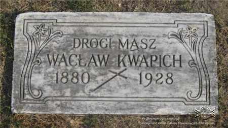 KWAPICH, WACLAW - Lucas County, Ohio | WACLAW KWAPICH - Ohio Gravestone Photos