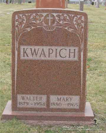 KWAPICH, MARY - Lucas County, Ohio | MARY KWAPICH - Ohio Gravestone Photos