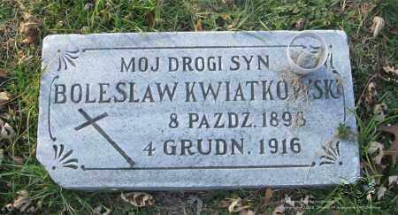 KWIATKOWSKI, BOLESLAW - Lucas County, Ohio | BOLESLAW KWIATKOWSKI - Ohio Gravestone Photos
